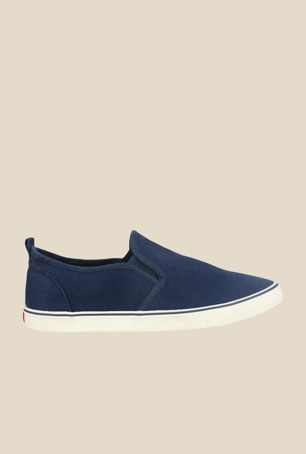 Shoetopia Blue & White Plimsolls