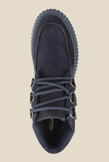 Shoetopia Navy Casual Boots
