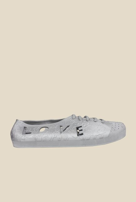 Shoetopia Grey Casual Shoes