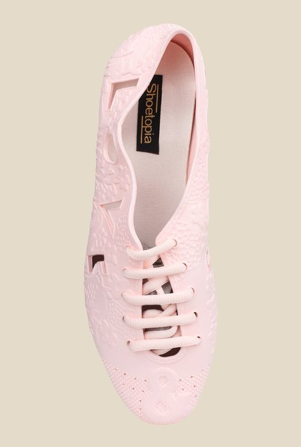 Shoetopia Pink Casual Shoes