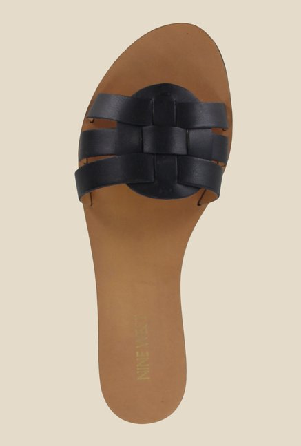 Nine West Black Casual Sandals