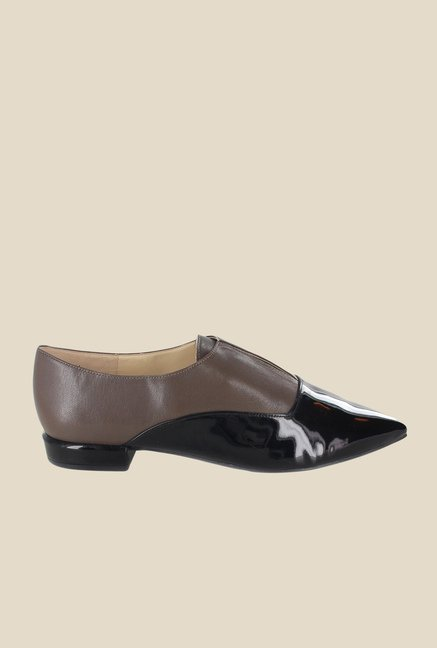 Nine West Brown & Black Casual Shoes