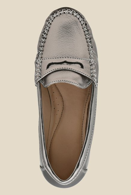 Bruno Manetti Gun Metal Casual Loafers