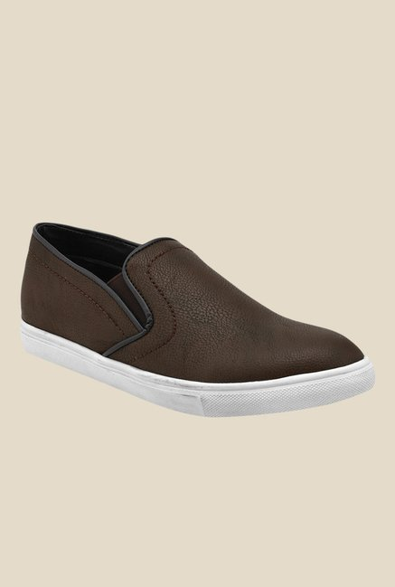 Bruno Manetti Brown & White Plimsolls