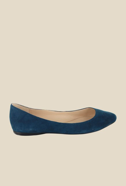Nine West Blue Flat Ballets