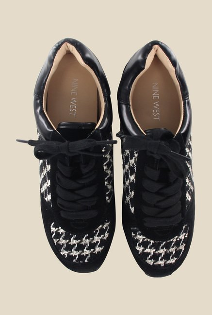 Nine West Black & White Sneakers