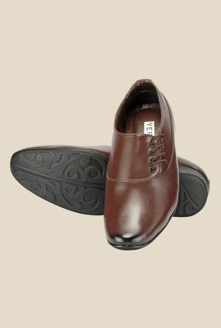 Yepme Brown Formal Shoes