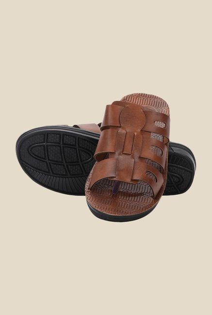Yepme Tan Casual Sandals