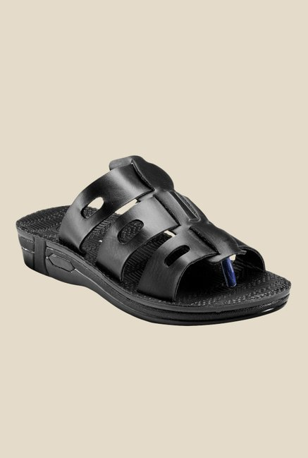 Yepme Black Casual Sandals
