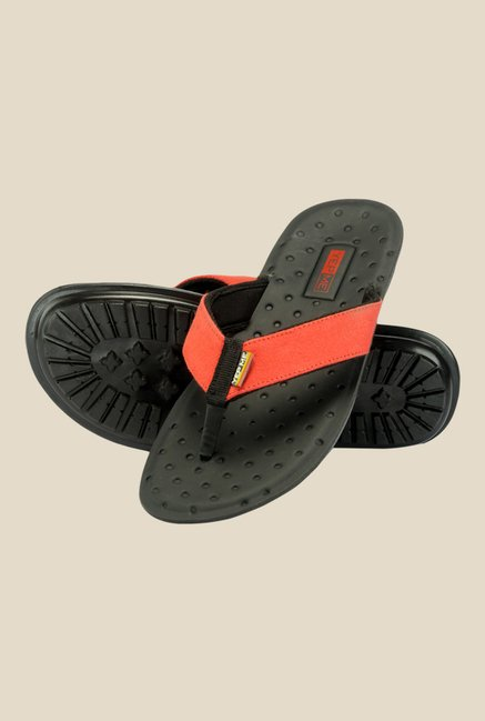 Yepme Red & Black Thong Sandals
