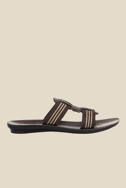 Yepme Brown Casual Sandals