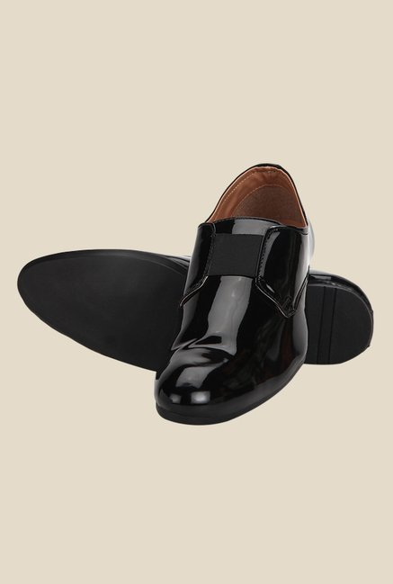 Yepme Black Formal Slip-Ons