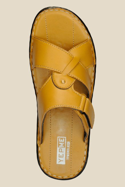 Yepme Camel Casual Sandals