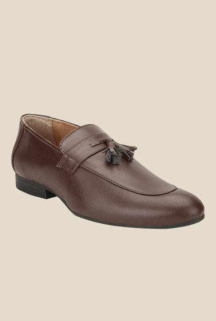 Yepme Brown Formal Moccasins