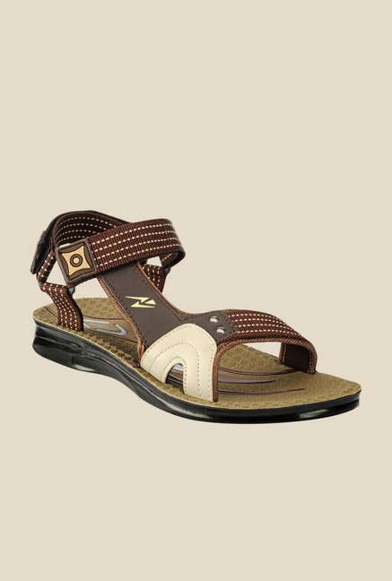 Yepme Brown Floater Sandals