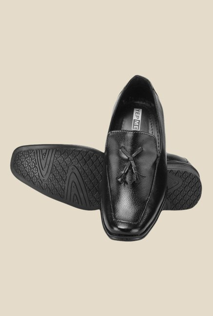 Yepme Black Formal Moccasins