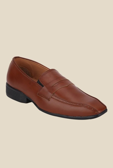 Yepme Tan Formal Loafers