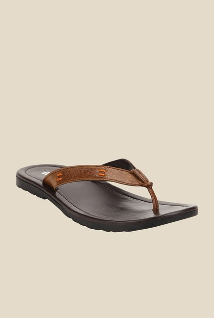 Yepme Brown Thong Sandals