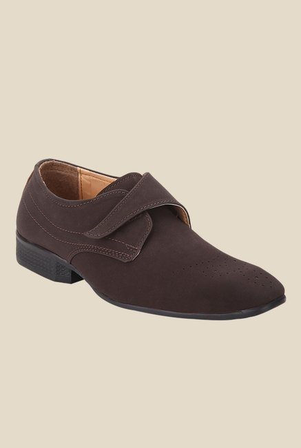 Yepme Brown Monk Shoes