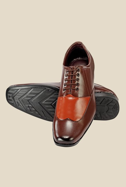 Yepme Brown Oxford Shoes