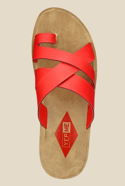 Yepme Red Casual Sandals