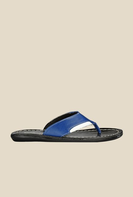 Yepme Blue & White Thong Sandals