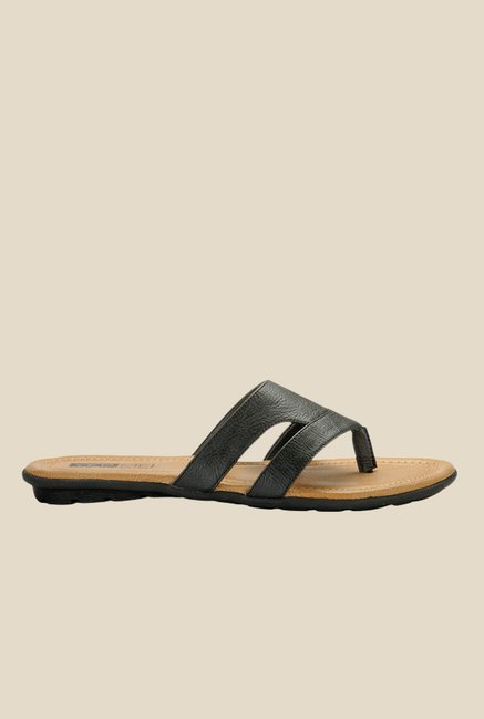 Yepme Black Thong Sandals