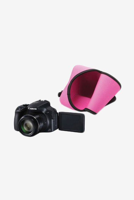 MegaGear Neoprene Camera Case for Canon SX60 HS (Pink)