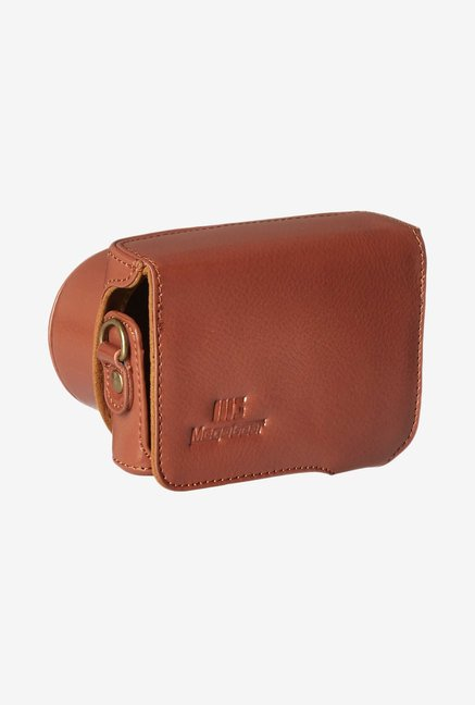 MegaGear Leather Camera Case for Samsung NX Mini (Brown)