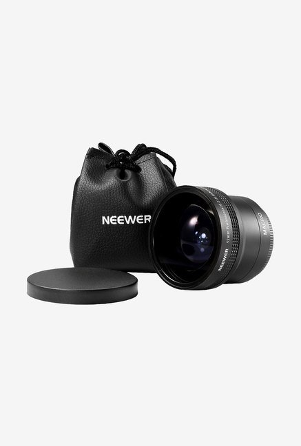 Neewer Threaded Fisheye Lens for Canon (Black)