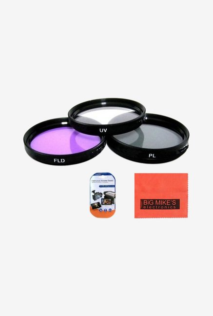 Big Mike's 67mm 3 Piece Filter Kit (Uv-Cpl-Fld) For Canon
