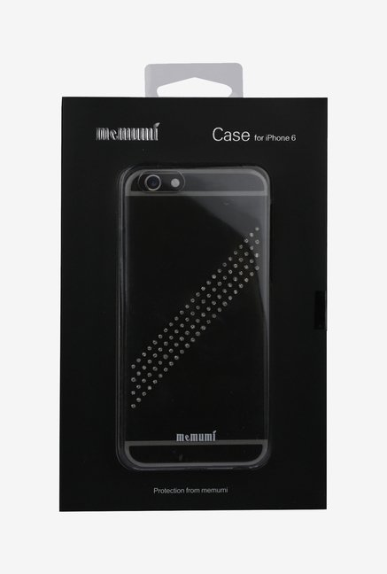 Memumi Crystal Back Cover for iPhone 6 (Transparent)