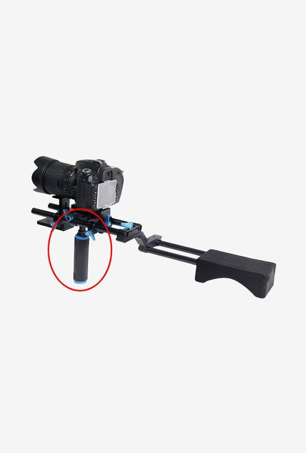 Neewer Mid-Handle Hand Grip with Rod Clamp (Black)