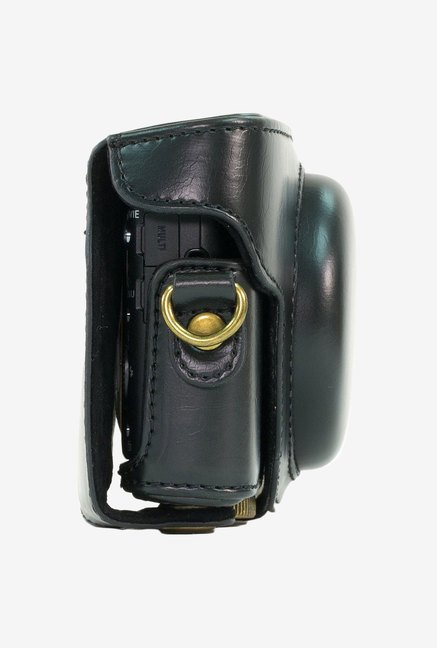 MegaGear Leather Camera Case for Sony DSC-RX100M II (Black)