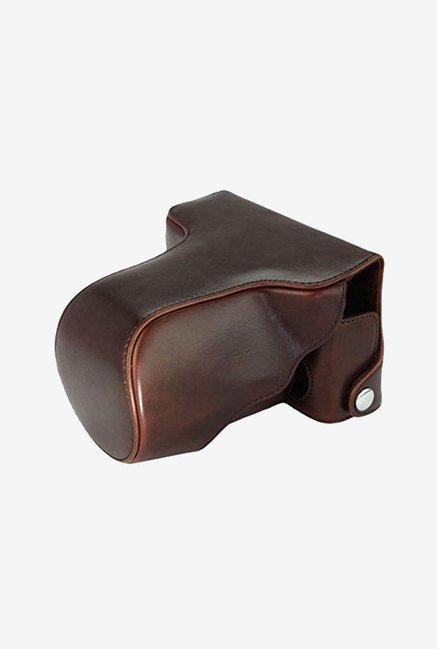 MegaGear Leather Camera Case for Fujifilm X-E2 (Dark Brown)