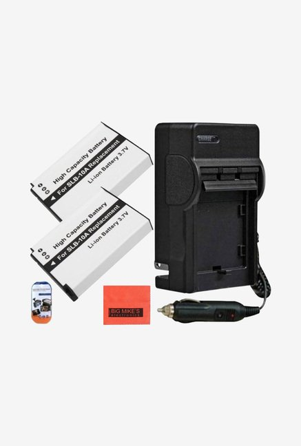 Big Mike's SLB-10A Li-ion Battery & Charger Kit (Black)