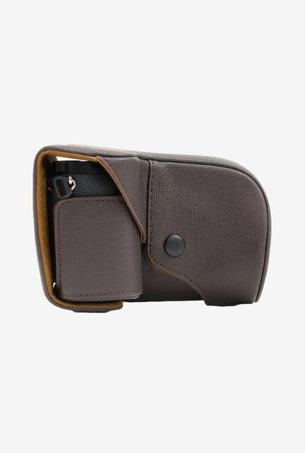 MegaGear Leather Camera Case for Sony NEX-7 (Dark Brown)