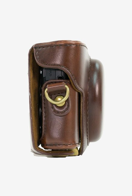 MegaGear Leather Camera Case for Sony DSC-RX100 (Brown)