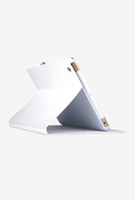 Memumi Ice Flip Cover for iPad mini 1 (White)