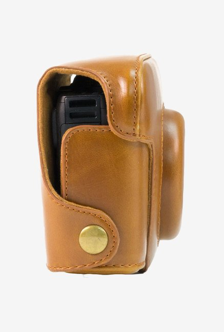 MegaGear Leather Camera Case for Canon G15 (Light Brown)