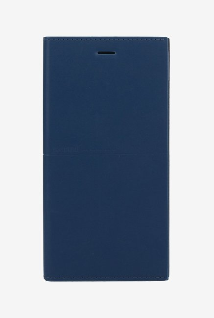 Memumi Simple Plus Flip Cover for iPhone 6s (Blue)