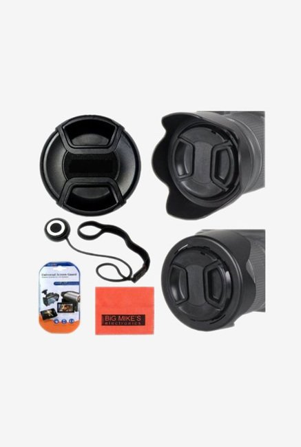 Big Mike's 52mm Digital Tulip Flower Lens Hood (Black)