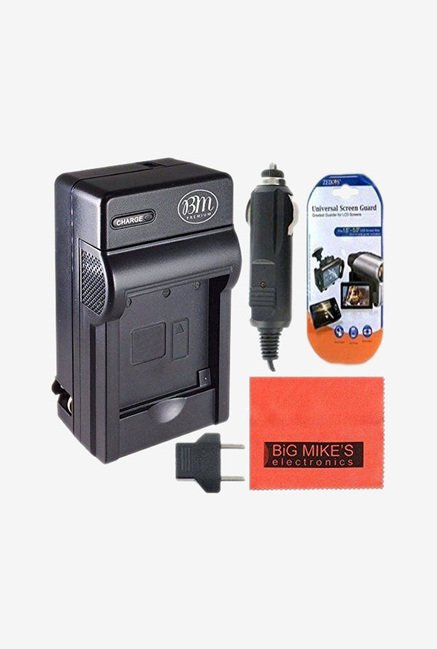 Big Mike's NB-4L 900 mAh Battery & Charger Kit (Black)