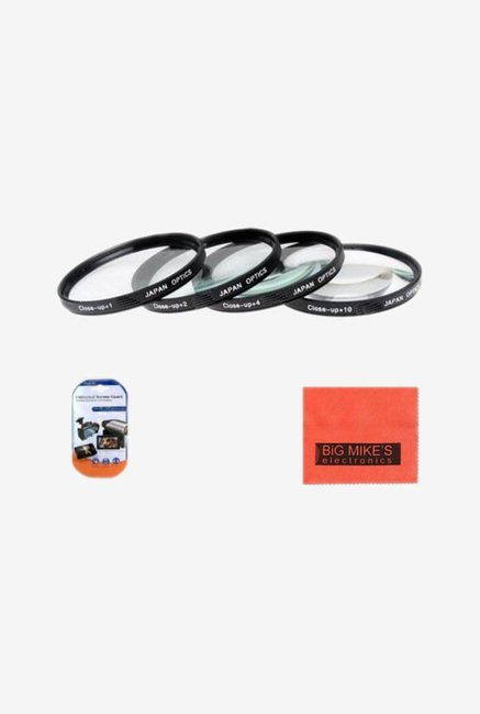 Big Mike's 52mm Close-Up Filter Set Magnification Kit