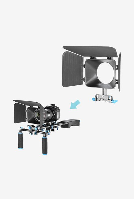 Neewer Dslr Matte Box for Follow Focus System (Black)