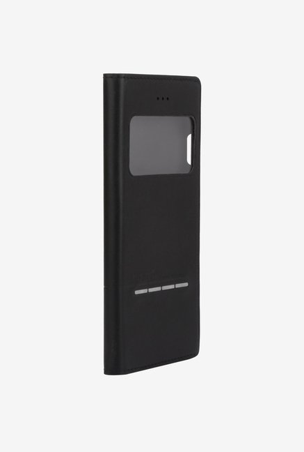 Memumi Wisdom Flip Cover for iPhone 6s Plus (Black)