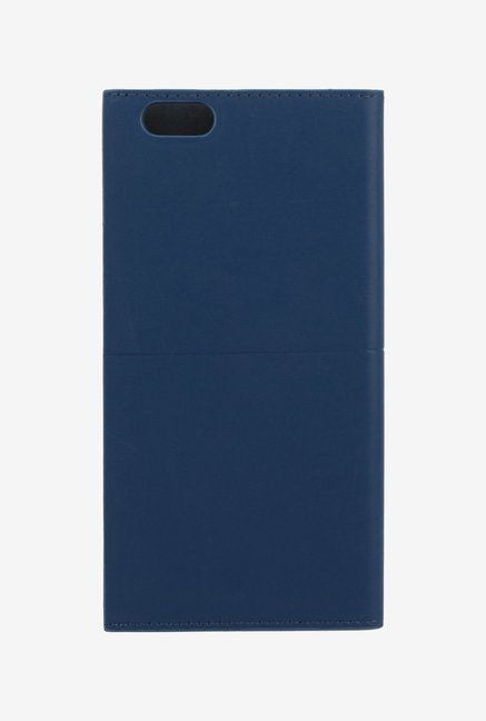 Memumi Simple Plus Flip Cover for iPhone 6s Plus (Blue)