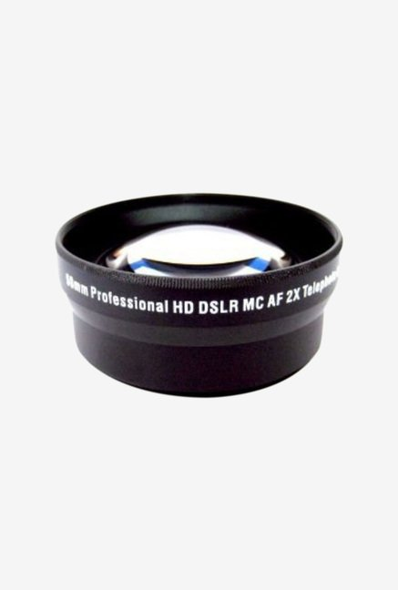 Big Mike's 52mm 2X Telephoto Lens for Gopro Camera (Black)