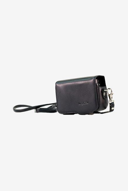 MegaGear Leather Camera Case for Canon SX280 HS (Black)