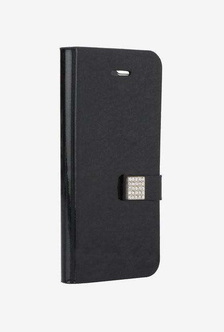 Memumi Ice Flip Cover for iPhone 5 (Black)